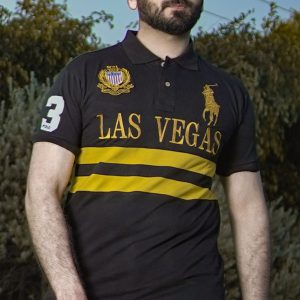 Ralph Lauren LV Striped Polo Shirt