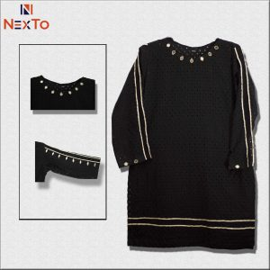 Nexto Black Chicken Kari Kurta