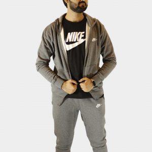 Nike Sportswear Fleece Tracksuit – Charcoal