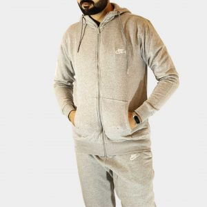 Nike Sportswear Fleece Tracksuit – Grey