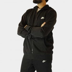 Nike Sportswear Fleece Tracksuit – Black