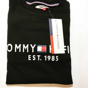 Tommy Hilfiger Terry Fleece Sweatshirt (Black)