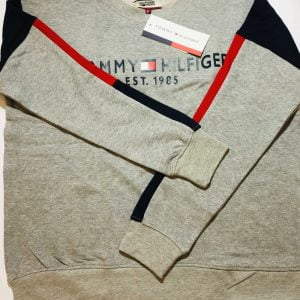 Tommy Hilfiger Terry Fleece Sweatshirt (Grey)